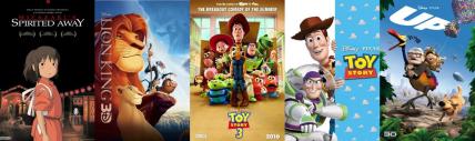 Melhores filmes de animação infantil 1-5
