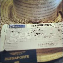 Passaporte e ticket