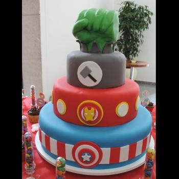 Maternidade Hoje, bolo, bolo de aniversário, bolo Hulk