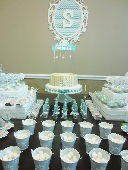 Festa tema Frozen, festa de aniversário Frozen, aniversário infantil, festa infantil, maternidade hoje, bolo frozen
