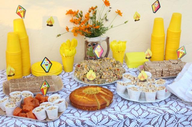 Festa junina, maternidade hoje, guloseimas