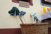 Festa junina, maternidade hoje, cavalinho de pau