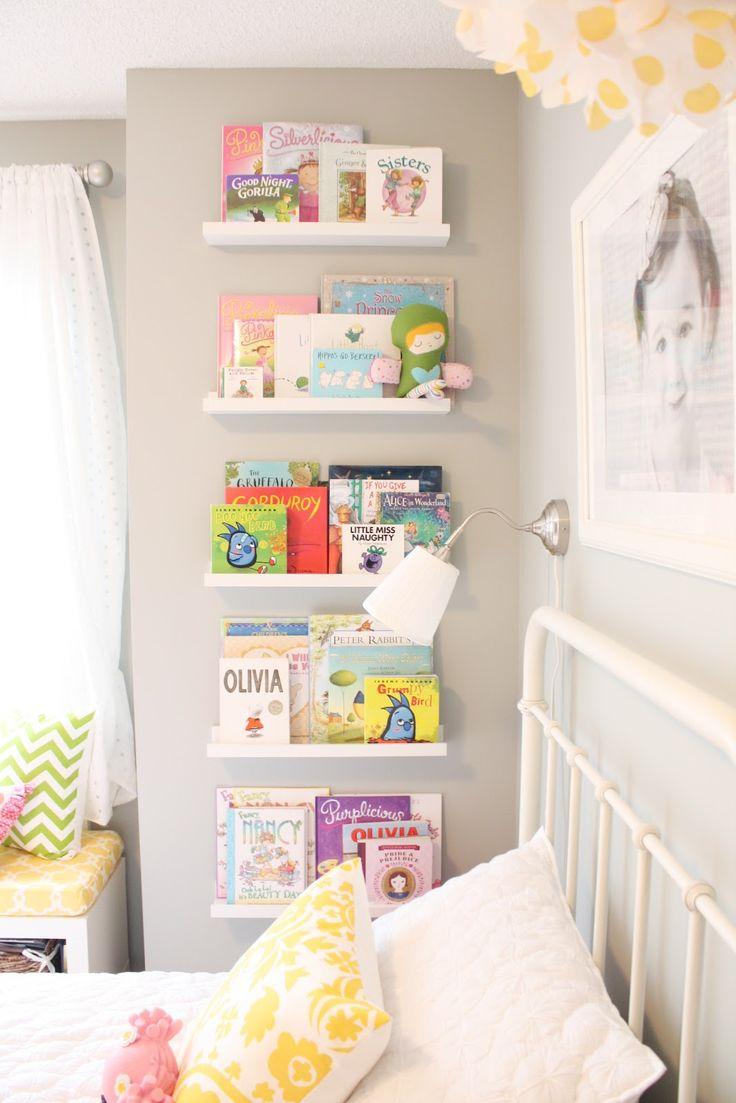 Quarto Infantil 12 Ideias Criativas Para Organizar Os Livros Maternidade Hoje