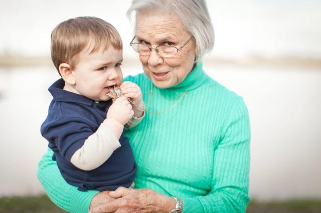 Maternidade Hoje, avó, neto