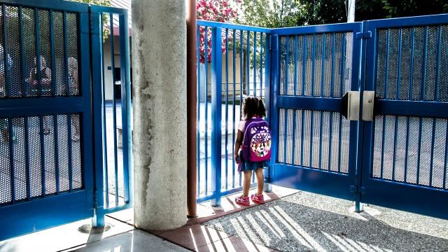 primeiro dia escola
