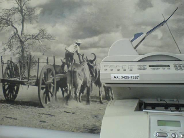 Fax carroça