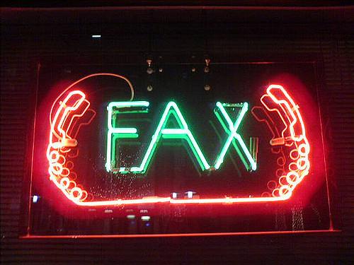 Fax neon
